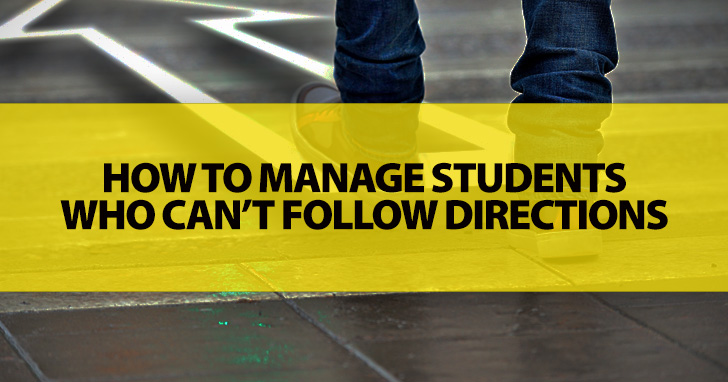 I Handwrote the Paper, Changed the Topic, and Posted It on Facebook: Managing Students Who Can't Follow Directions