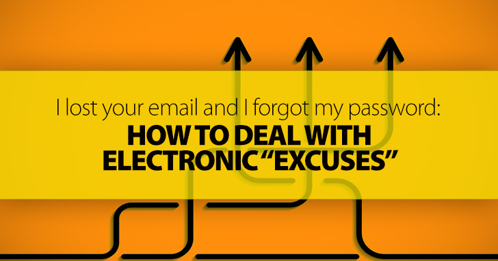 "Turnitin Isn't Working, I Lost Your Email, and I Forgot My Password: Dealing with Electronic ""Excuses"""
