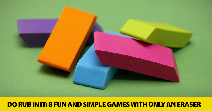 Isn't That the Rub? 8 Simple Games You Can Play with Just an Eraser