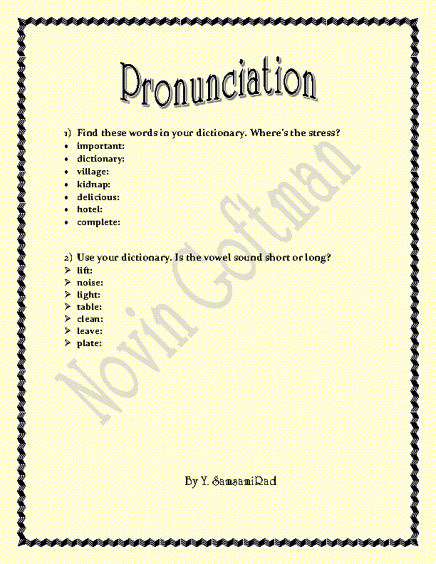 math worksheet : 223 free pronunciation worksheets : Long A Worksheets Kindergarten