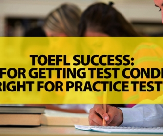 Please tell me what a TOEFL test involves?