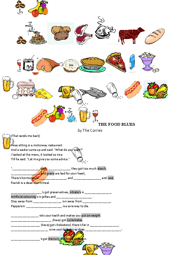 76 FREE Eating Habits Worksheets – Healthy Food Worksheets