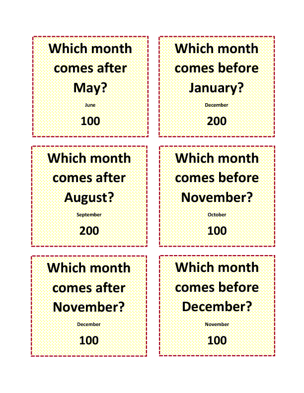 Monthsdays_of_the_week Worksheets on Days Of The Week Worksheets