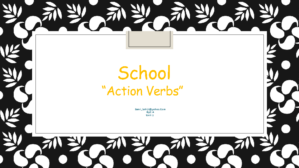 Action words for creative writing