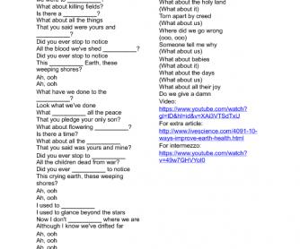 Michael jackson song we are the world lyrics