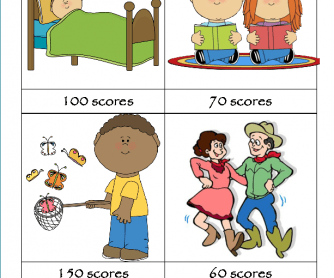 Spelling Game- Outdoor Activities