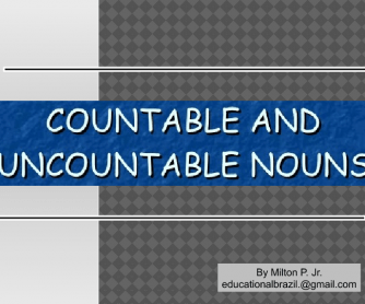 Countable Nouns (Easy Explanation + Exercises PPT)