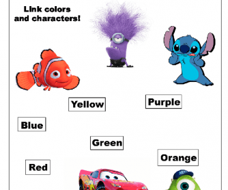 Learning Colors with Characters