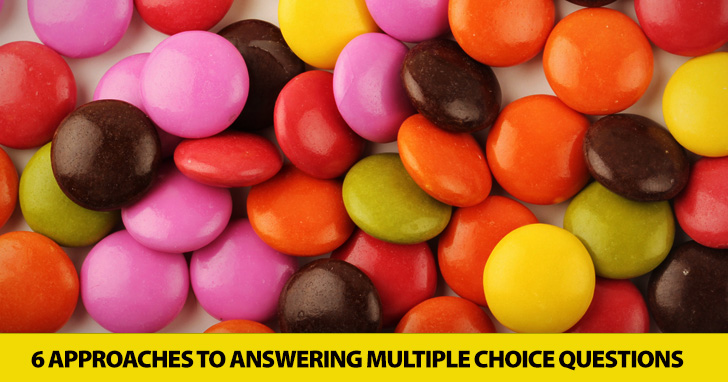 More than A B C: 6 Approaches to Answering Multiple Choice Questions