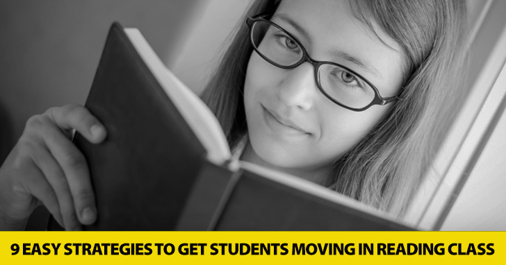 Turning Pages Isn't Enough: 9 Easy Strategies to Get Students Moving in Reading Class