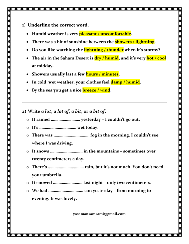 Printables Weather Worksheets Middle School 242 free weather worksheets weather