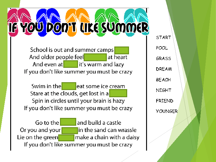 essay on summer vacation for children An analysis of a family summer vacation pages 2 sign up to view the rest of the essay summer vacation, family summer vacation, tourist attraction.