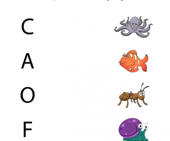 First Letter Sounds