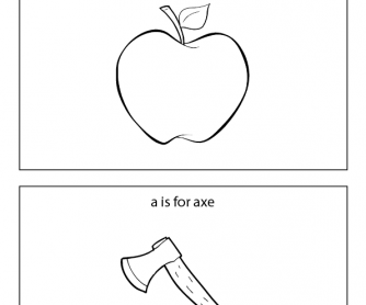 Early Reader Booklet - Words That Start with 'A'