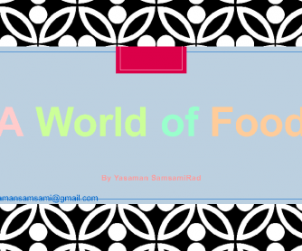 Food - Quantities
