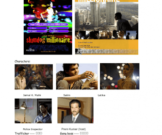 Movie Worksheet: Slumdog Millionaire