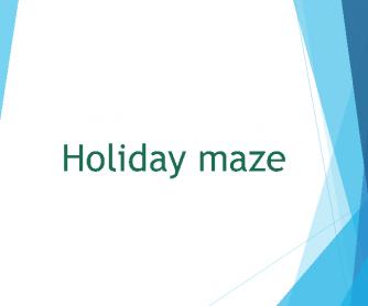 Holiday Maze