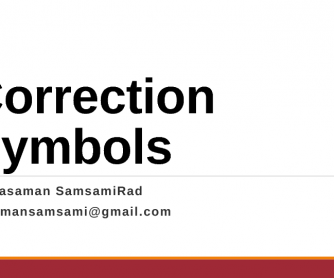 correcting mistakes worksheets correction symbols