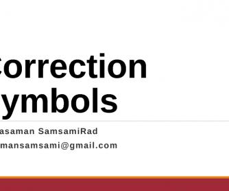 Correction Symbols