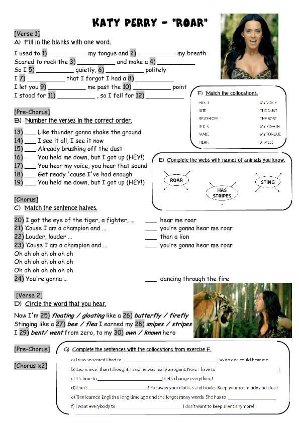 69 FREE Collocations Worksheets – Free Printable Esl Worksheets