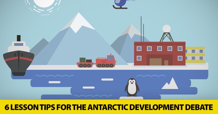Sustainability in the ESL Classroom: The Antarctic Development Debate