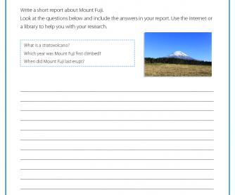 Research Activity - Mount Fuji