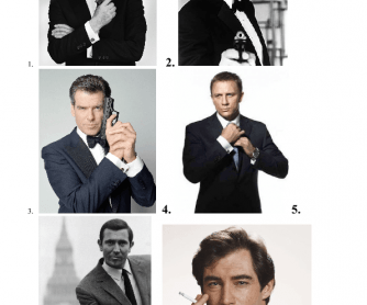 James Bond Appearance Game