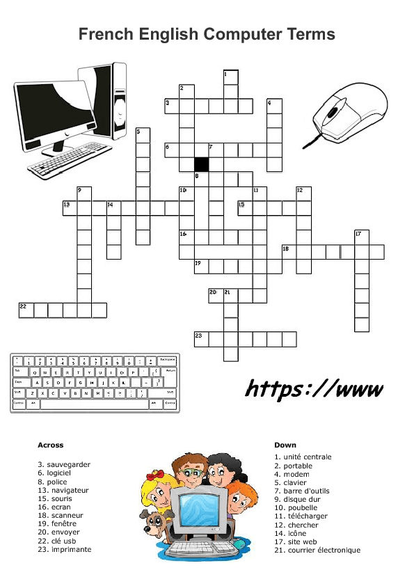 119 FREE Computers and Internet Worksheets – Computer Worksheets