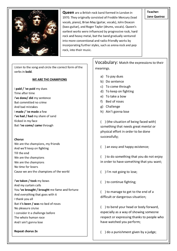 english upper intermediate exercises pdf