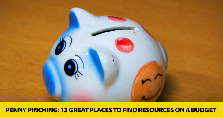 Penny Pinching: 13 Great Places to Find Resources on a Budget