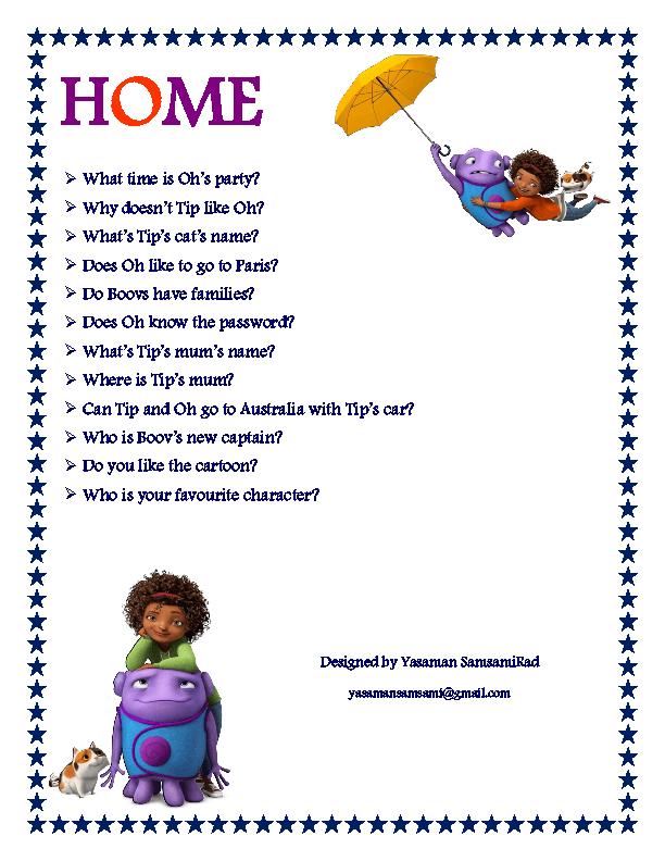 Home work movie