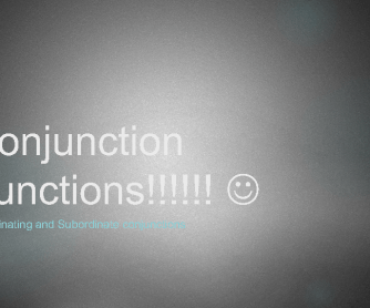 Conjunction Functions