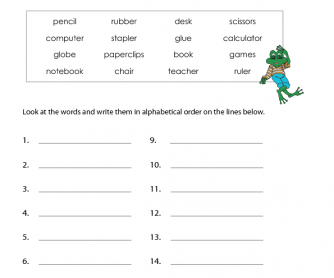 Number Names Worksheets phonetic alphabet worksheet : 191 FREE Alphabet Worksheets