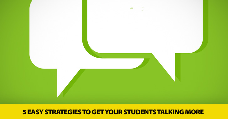 Ditching the Lecture: 5 Easy Strategies to Get Your Students Talking More (and You Talking Less)