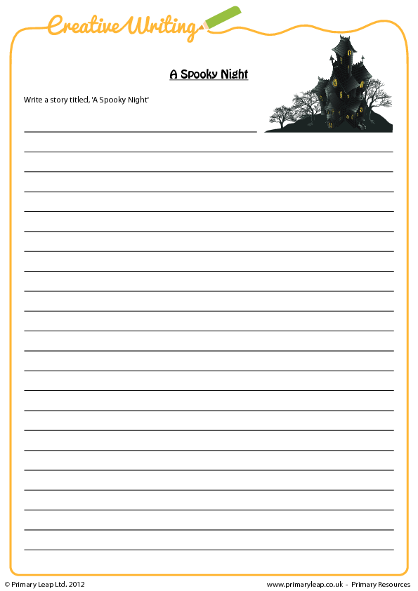 Writing Prompt Sheets Upper KS2