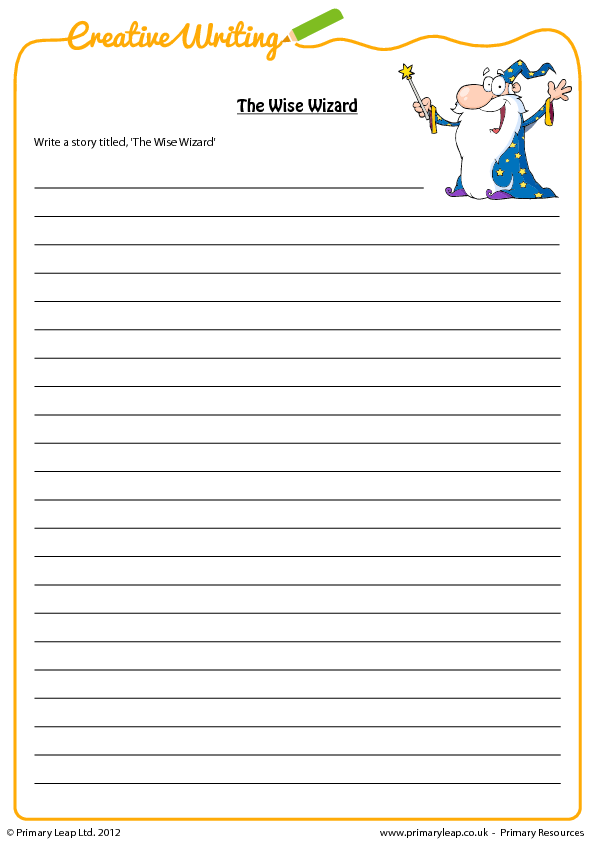 english worksheets on creative writing In just 10 minutes a day you can improve your creativity, clarity, and storytelling  skills with these short writing exercises.