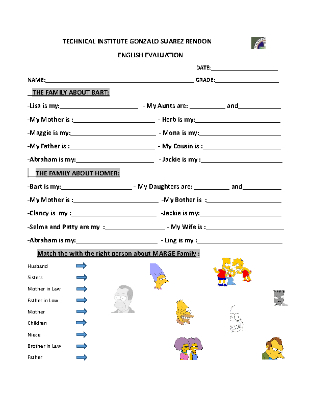 17 FREE Family Day Worksheets – La Familia Worksheets