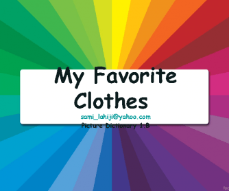 My Favorite Clothes