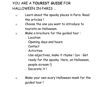 Paris Halloween Tour