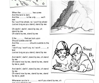 Song Worksheet: Stand by Me