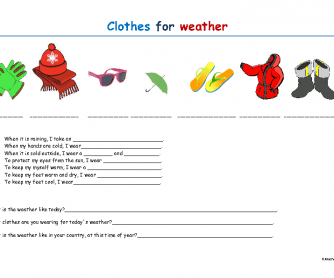 Clothes for Weather