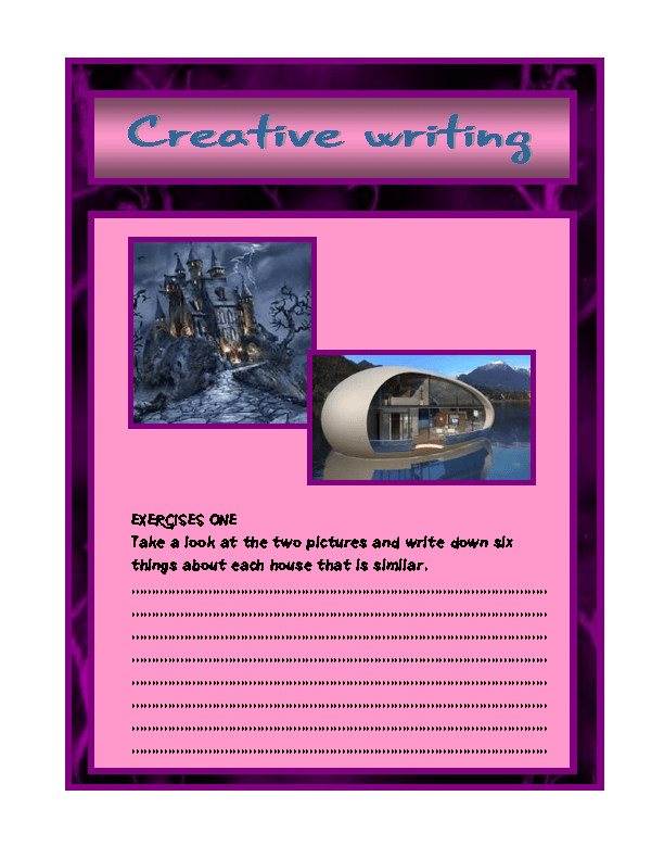 the creative writing im on prozac How to write creatively creative writing can be challenging but rewarding you can use it as an escape or just to write something to call your own.