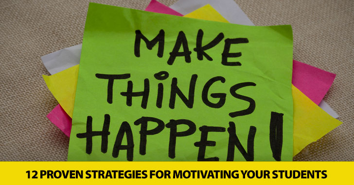Going for the Gold: 12 Proven Strategies for Motivating Students