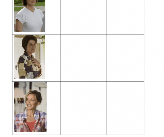 Movie Worksheet: Desperate Housewives, Season1, Episode1 (Personality and Characters Idioms)