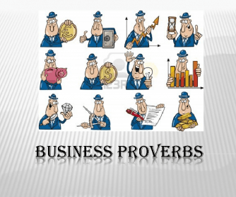 Business Proverbs