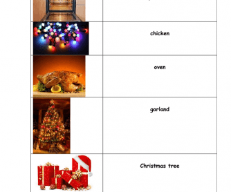 Movie Worksheet: Mog's Christmas Calamity