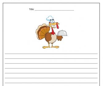 Creative Writing - Thanksgiving Story (2)