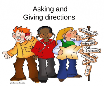 Directions: Asking and Giving