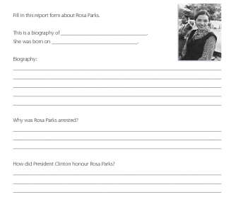 Rosa Parks - Research Activity