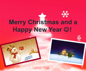 Enhancing Speaking Skills: Merry Xmas and a Happy New year!